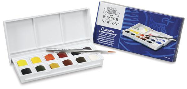 Venta pintura online: Caja 12 1/2 Godets Cotman