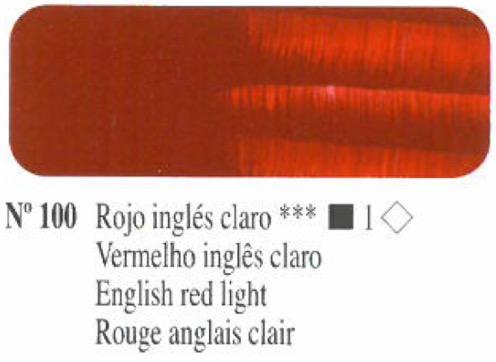 Venta pintura online: Oleo Rojo Inglés claro nº100 serie 1