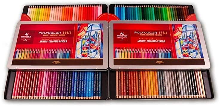 Venta pintura online: Caja 144 Lápices Polycolor Koh-i-noor