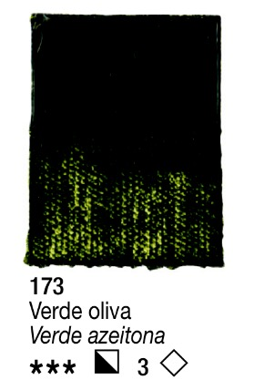 Venta pintura online: Acrílico Verde Oliva nº173 serie 3