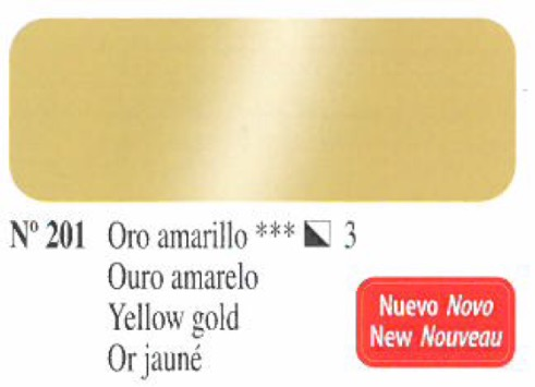 Venta pintura online: Oleo Oro amarillo nº201 serie 3
