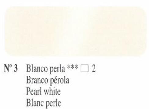 Venta pintura online: Oleo Blanco perla nº3 serie 2