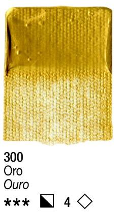 Venta pintura online: Acrílico Oro nº300 serie 4