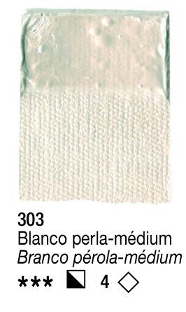 Venta pintura online: Acrílico Blanco Perla-Medium nº303 serie 4
