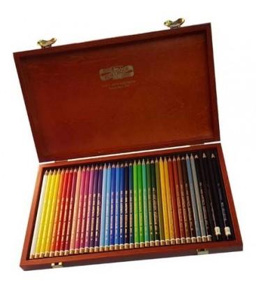 Venta pintura online: Caja Madera 36 Lápices Polycolor Koh-i-noor