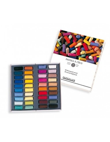 Venta pintura online: Caja 40 1/2 Barras Pastel Sennelier