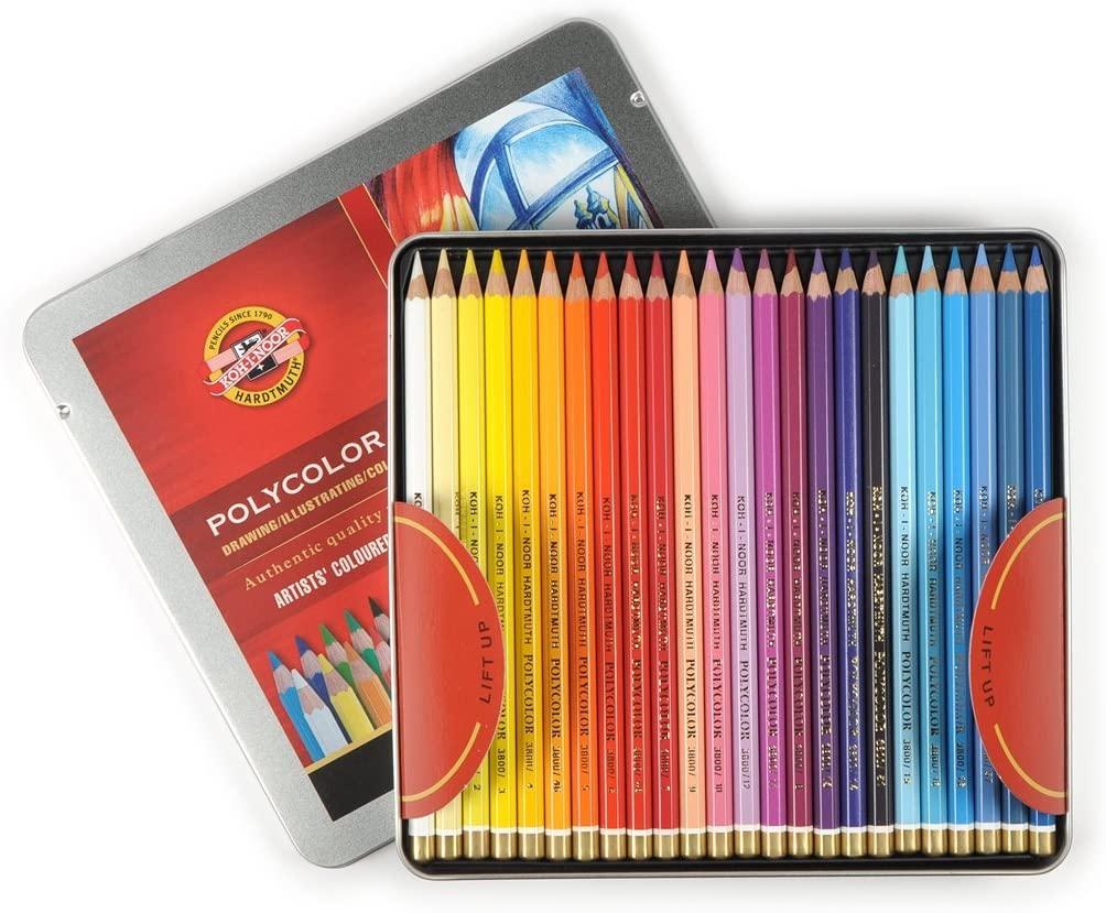Venta pintura online: Caja 48 Lápices Polycolor Koh-i-noor
