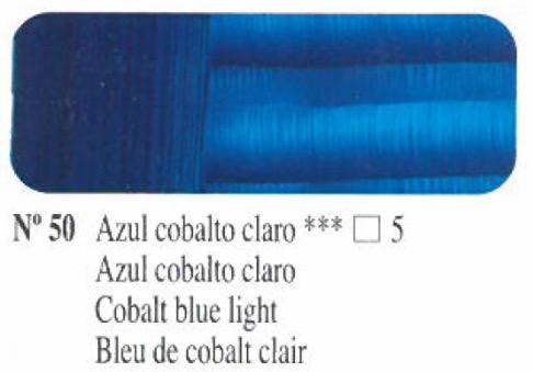 Venta pintura online: Oleo Azul cobalto claro nº50 serie 5
