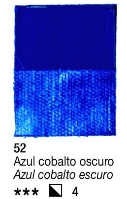 Venta pintura online: Acrílico Azul Cobalto oscuro nº52 serie 3