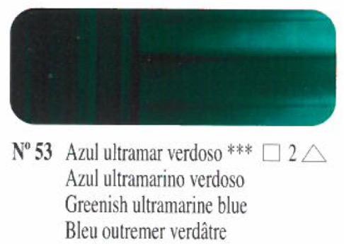 Venta pintura online: Oleo Azul ultramar verdoso nº53 serie 2