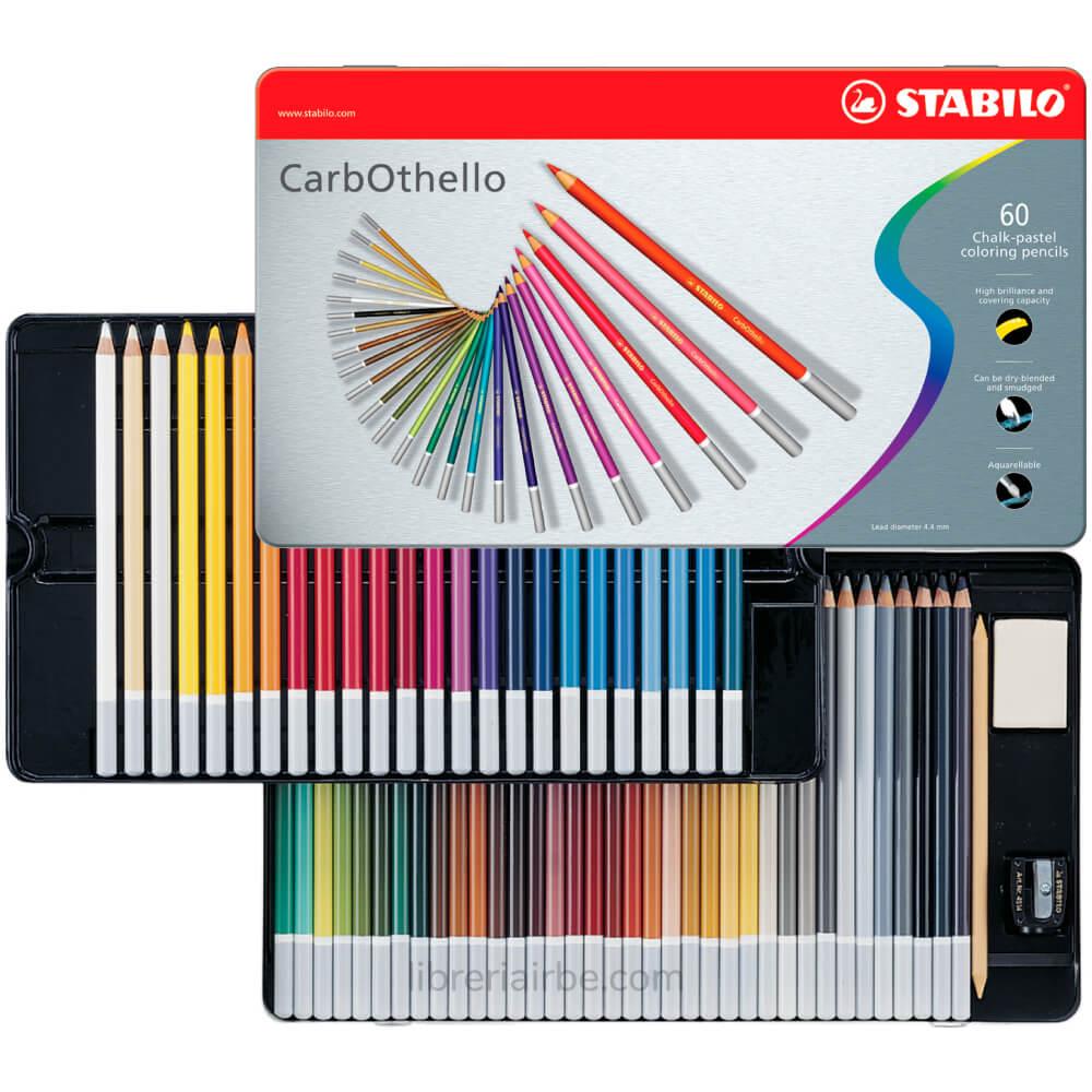 Venta pintura online: Caja 60 Lápices Pastel Carbothelo