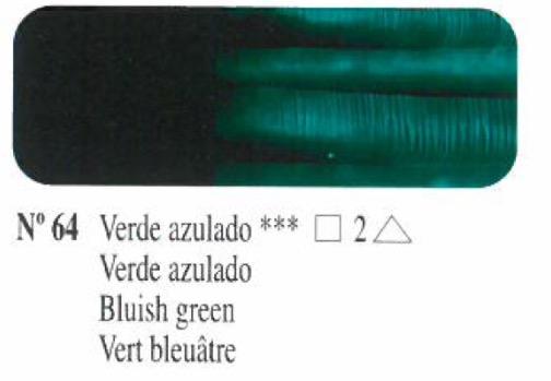 Venta pintura online: Oleo Verde azulado nº64 serie 2