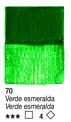 Venta pintura online: Acrílico Verde Esmeralda nº70 serie 3