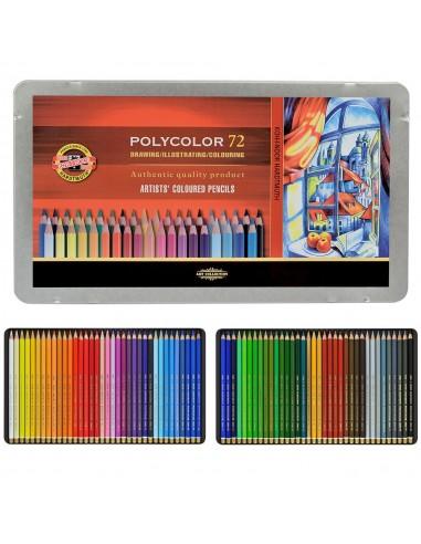 Venta pintura online: Caja 72 Lápices Polycolor Koh-i-noor