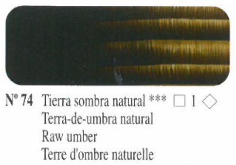 Venta pintura online: Oleo tierra sombra natural nº74 serie 1