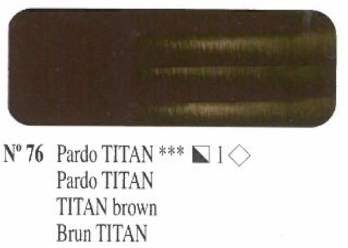 Venta pintura online: Oleo Pardo titan nº76 serie 1