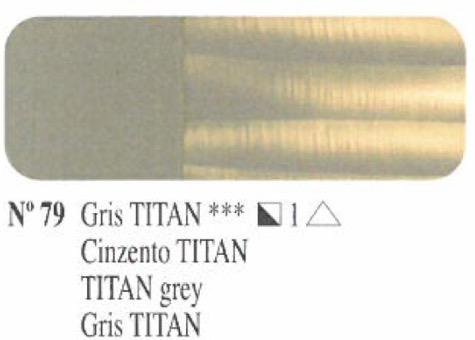 Oleo Gris Titan nº79 serie 1