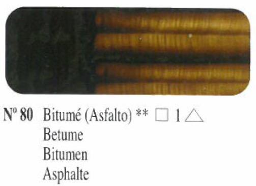 Venta pintura online: Oleo Bitumé nº80 serie 1