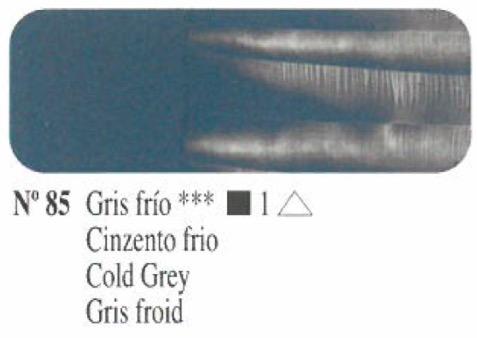 Venta pintura online: Oleo Gris frío nº85 serie 1