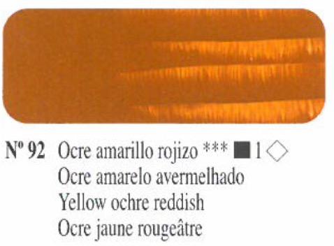 Venta pintura online: Oleo Ocre amarillo rojizo nº92 serie 1