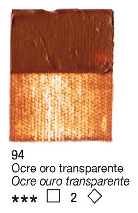 Venta pintura online: Acrílico Ocre Oro Transparente nº94 serie 2