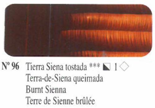Venta pintura online: Oleo Tierra siena tostada nº96 serie 1