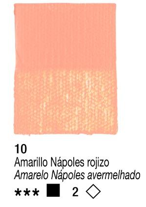 Venta pintura online: Acrílico Amarillo Nápoles Rojizo nº10 serie 2