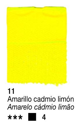 Venta pintura online: Acrílico Amarillo Cadmio Limon nº11 serie 4