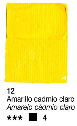 Venta pintura online: Acrílico Amarillo Cadmio Claro nº12 serie 4