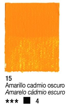 Venta pintura online: Acrílico Amarillo cadmio oscuro nº15 serie 4