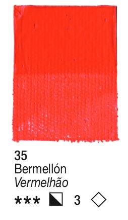 Venta pintura online: Acrílico Bermellón nº35 serie 3