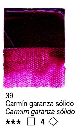 Venta pintura online: Acrílico Carmín Garanza Sólido Oscuro nº39 serie 4