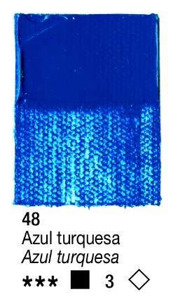 Venta pintura online: Acrílico Azul Turquesa nº48 serie 3