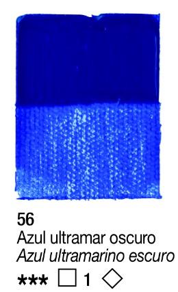 Venta pintura online: Acrílico Azul Ultramar Oscuro nº56 serie 1
