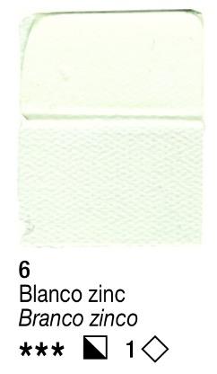 Venta pintura online: Acrílico Blanco Zinc nº6 serie 1