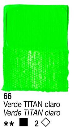 Venta pintura online: Acrilico Verde titan Claro nº66 serie 2
