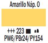 Venta pintura online: Acrílico Amarillo Nápoles Oscuro nº223