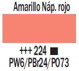 Venta pintura online: Acrílico Amarillo Nápoles Rojo nº224
