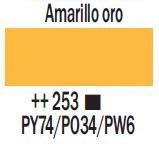 Venta pintura online: Acrílico Amarillo Oro nº253
