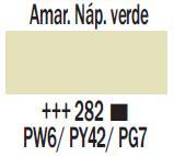 Venta pintura online: Acrílico Amarillo Nápoles Verde nº282
