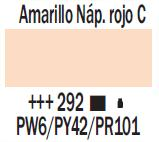 Venta pintura online: Acrílico Amarillo Nápoles Rojo Claro nº292