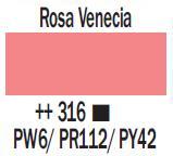 Venta pintura online: Acrílico Rosa Venecia nº316