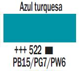 Venta pintura online: Acrílico Azul Turquesa nº522