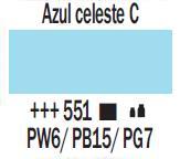 Acrílico Azul Celeste Claro nº551