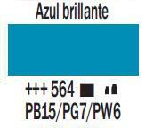 Venta pintura online: Acrílico Azul Brillante nº564
