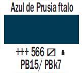 Venta pintura online: Acrílico Azul Prusia Ftalo nº566