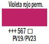 Venta pintura online: Acrílico Violeta Rojo Perm. nº567