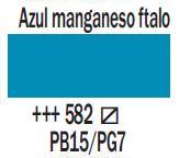 Venta pintura online: Acrílico Azul Manganeso Ftalo nº582