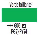 Venta pintura online: Acrílico Verde Brillante nº605
