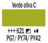 Venta pintura online: Acrílico Verde Oliva claro nº621